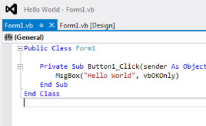 Visual Basic Programming for teachers